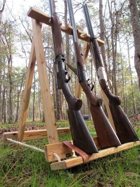 Stand Up Gun Rack by Cypress Gun Rack Five Gun Stand Collapsible
