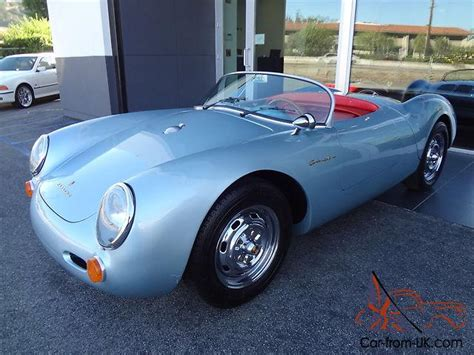 1955 porsche 550 spyder replica by beck