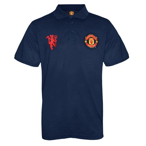 Polo Shirt Manchester United Limited manchester united fc official football gift mens crest polo shirt ebay