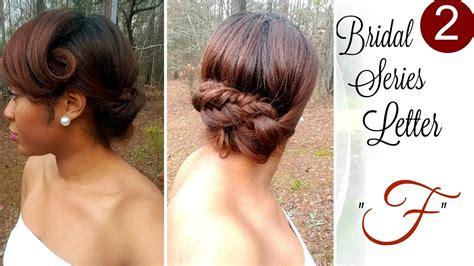 michysbraids com f farrah fishtail braid on natural hair bridal