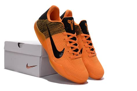 orange black basketball shoes nike 11 elite orange black basketball shoes for sale