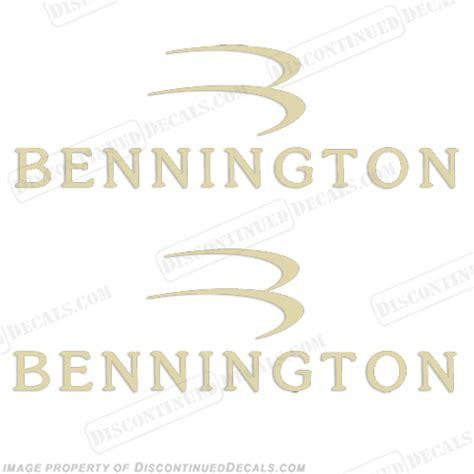 bennington boat decals bennington boat logo decals set of 2 fawn