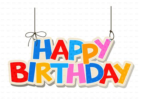 happy birthday ascii design happy birthday png text clipart best