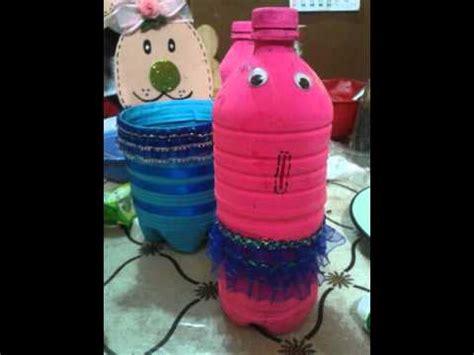 como hacer una alcancia con vasos plasticas como hacer una alcancia con botella de plastico youtube
