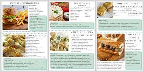 menu for dinner for 6 dinner menu week 1 somewhat simple