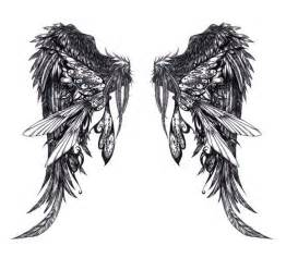 For this type of angel wings tattoo it always reminds me of a bird