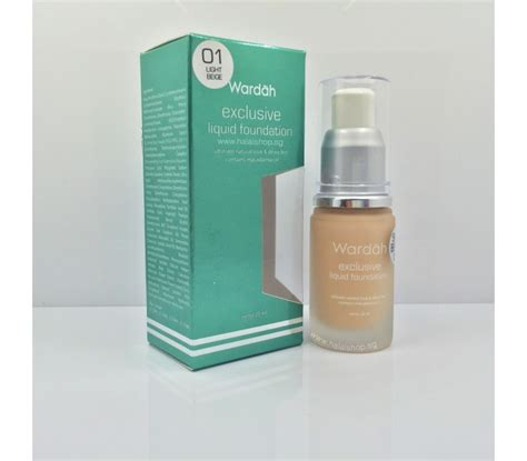Wardah Liquid Foundation halal cosmetics singapore wardah exclusive liquid