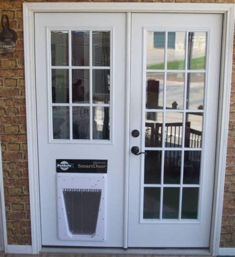 Pet Ready Exterior Doors Doors Marvellous Door With Door Built In Patio Door With Built In Door Can You
