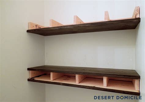 how to build wooden shelf supports woodworking