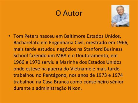 Tom Peters Mba by As Pequenas Grandes Coisas