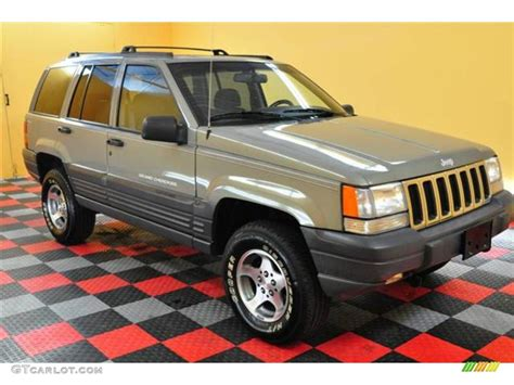 1996 charcoal gold satin jeep grand laredo 4x4 13894989 photo 4 gtcarlot car