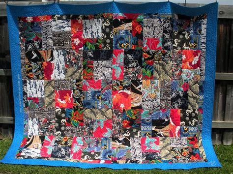 quilt pattern hawaiian shirts lpz memorial hawaiian shirt quilt custom made for sally