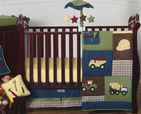 construction crib bedding set construction zone baby bedding 11pc crib set only 189 99