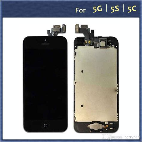 Lcd Cina C5 Tft022h011 2017 for apple iphone 5 5g 5s 5c 5se lcd display digitizer touch screen home button front