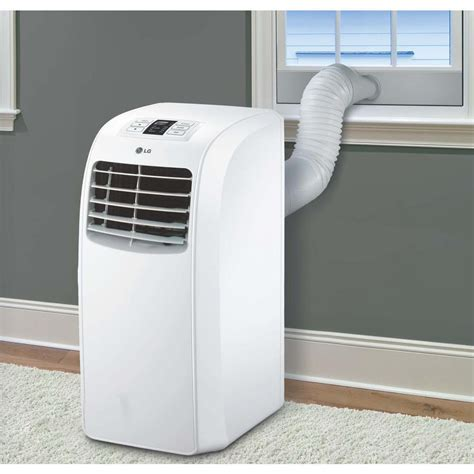 lg lp0815wnr 8 000 btu portable air conditioner dehumidifier function remote ebay