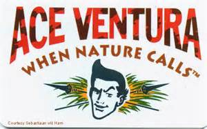ace ventura business card the jim carrey zone get your own ace ventura id card