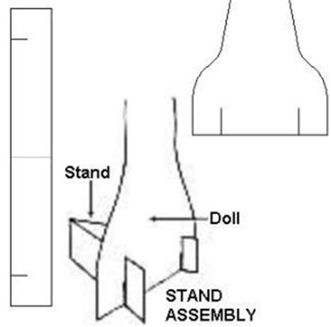 How To Make A Paper Doll Stand - paper dolls the basic paper dolls