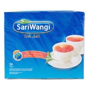 Teh Kotak Isi Karton jual teh celup sariwangi teh asli isi 25 tea bag