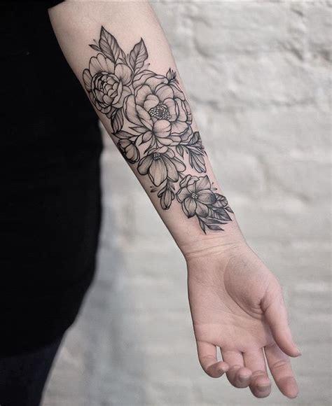 tatoeage bloem mariaaamedina bloemen onderarm tattoo tattoos flower