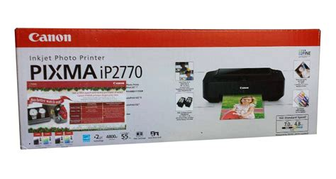 Refill Tinta Printer Canon Ip 2770 printer canon pixma ip2770