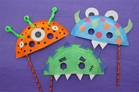 Mask Craft Paper Plate - paper plate masks