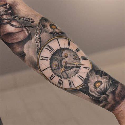 time piece tattoo 1000 ideas about clock tattoos on pocket