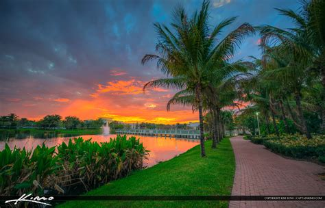 Beaches Mri Palm Gardens by Sunset From The Lake At Palm Gardens Florida