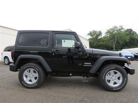 Jeep Wrangler Doors For Sale 2014 Jeep Wrangler Sport 4x4 Sport 2dr Suv Suv 2 Doors
