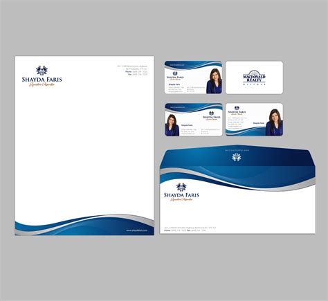 business card stationery template unique stationery design wanted for shayda faris