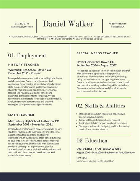 teacher resume samples preschool teacher resume template preschool