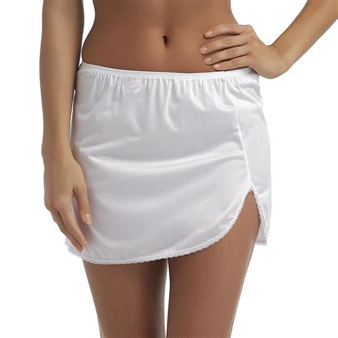 Vanity Fair Slip by Vanity Fair Daywear Solutions White Half Slip Size Small