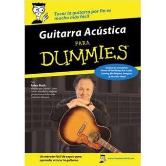 guitarra para dummies guitarra ac 250 stica para dummies dvd musica y cine varios directores fnac