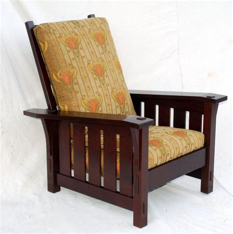 Stickley Upholstery by Voorhees Craftsman Mission Oak Furniture Gustav Stickley