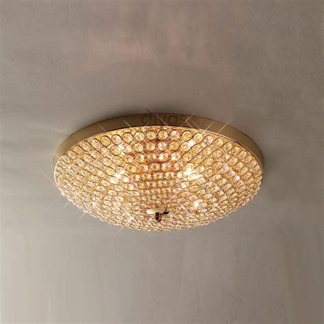 diyas il30756 4 light gold ceiling light