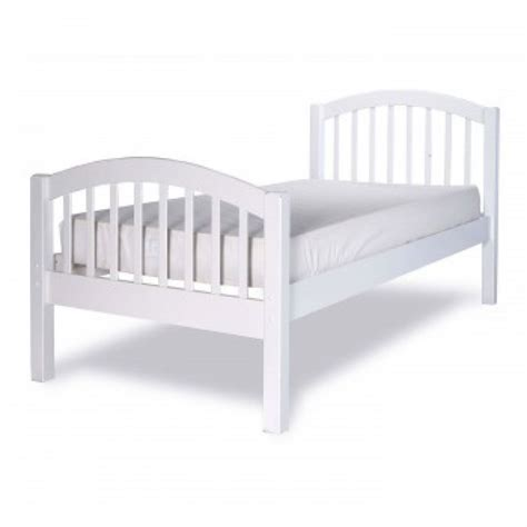 White Single Wooden Bed Frame Limelight Despina 3ft Single White Wooden Bed Frame By Limelight Beds