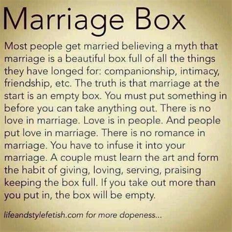 Marriage romance advice