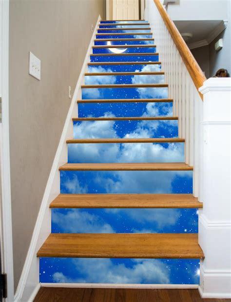 Painted Stairways   Starry Night ? RiserArt