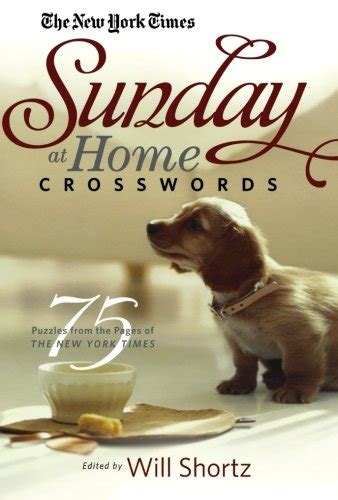 the new york times sunday funday crosswords 75 sunday crossword puzzles books the new york times sunday at home crosswords 75 puzzles