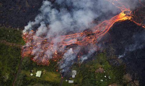 Big 8 An Update by Hawaii Volcano Update Fissure Map Lava Advances