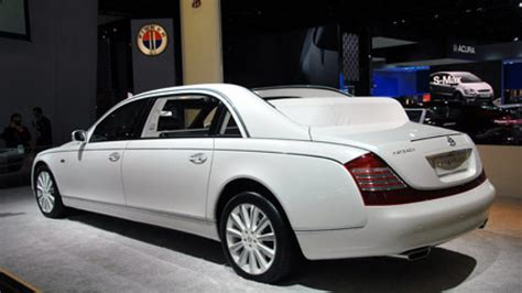 maybach 62s price maybach prices 62 landaulet for america at 1 35 million