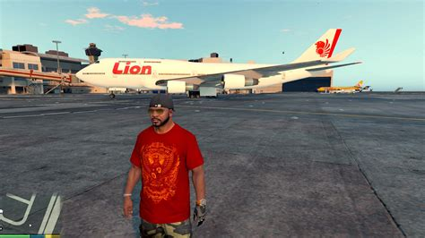 game online gta mod indonesia indonesian airline textures gta5 mods com