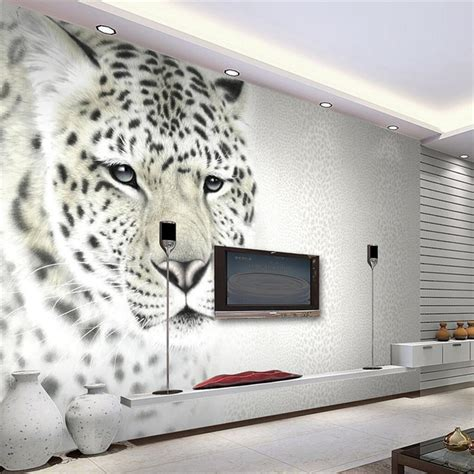 Classic Home Decoration aliexpress com buy beibehang 3d wall paper animal art