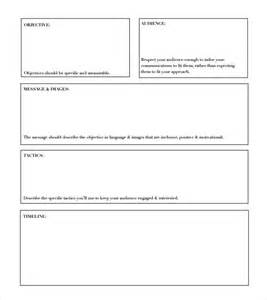 Project Outline Template Excel by Project Outline Template 9 Free Documents In