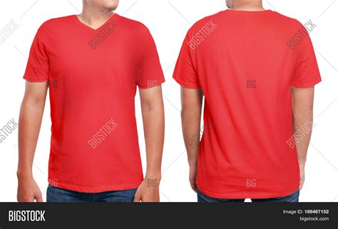 Hoodie Capsule Merah 3 Jidnie Clothing t shirt mock front back view image photo bigstock