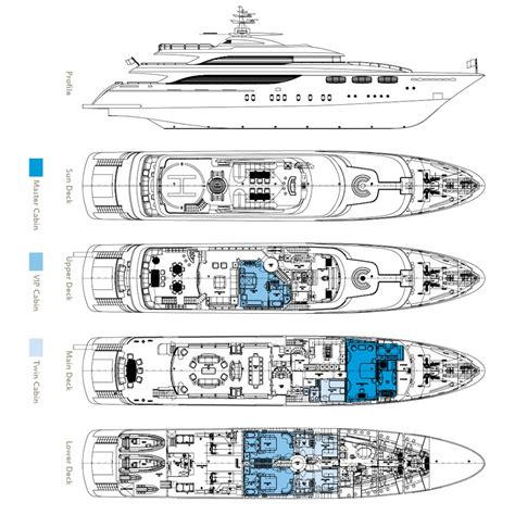 yacht floor plan layout plans image gallery luxury yacht browser by