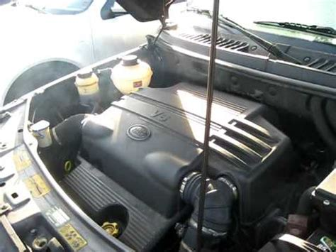 how do cars engines work 2005 land rover discovery interior lighting land rover freelander engine knocking youtube