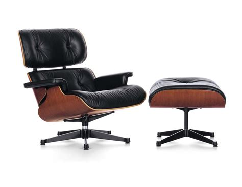 Eames Chair Recliner by Vitra Lounge Chair Ottoman By Charles Eames 1956