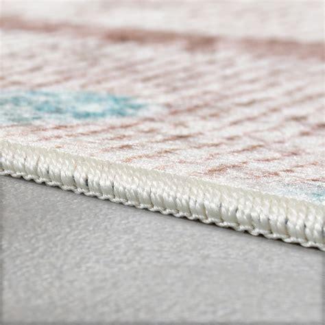 rosa teppich designer teppich wohnzimmer teppiche orient bedruckt