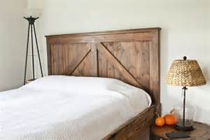 Barn Door Headboard Barn Door Headboard Stylish Decor