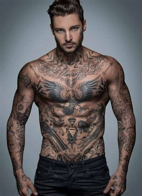 tattoo top back men with tattoo sleeves that will make you thirsty